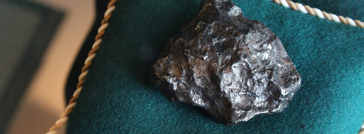 Lieksan meteoriitti osaksi luonnontieteellisiä kansalliskokoelmia